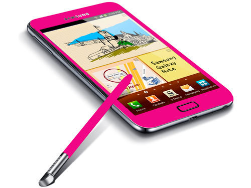 News terminali | Galaxy Note rosa in arrivo!