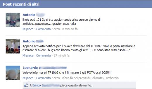 News | Aggiornamento FOTA ad Ice Cream Sandwich per ASUS Transformer TF101 3G con un giorno di anticipo!