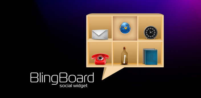 News Apps | Tutti i social in un widget con BlingBoard: Social Widget.