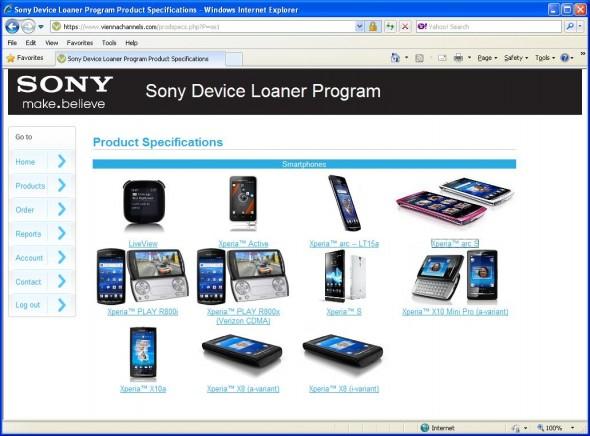 News |  Smartphone gratis per gli sviluppatori di applicazioni Sony, per testare le app!