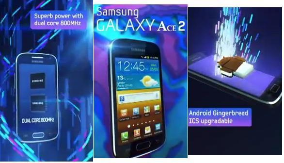 Novità Terminali| Il video promo conferma ICS per Samsung Galaxy Ace 2