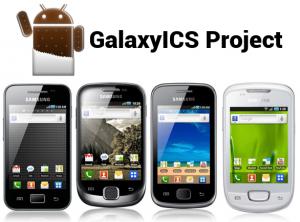 News | GalaxyICS: un progetto per portare Ice Cream Sandwich sui Galaxy minori