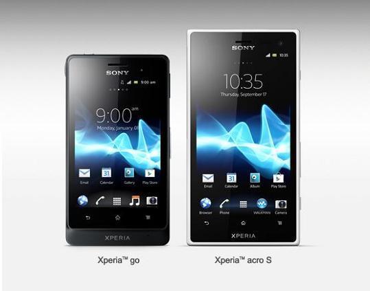 News Terminali | Sony annuncia Xperia Acro S e Xperia Go [VIDEO]