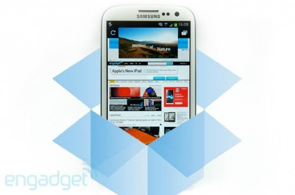 News | Partnership tra Samsung e Dropbox per incentivare l'acquisto del Galaxy SIII