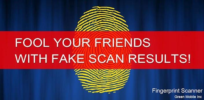 News Apps | FingerPrint Scanner: inganna i tuoi amici con lo scanner di impronte digitali!