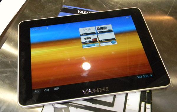 Novità Terminali| Yashi YPad A10: Un tablet da 9.7'' con Android ICS