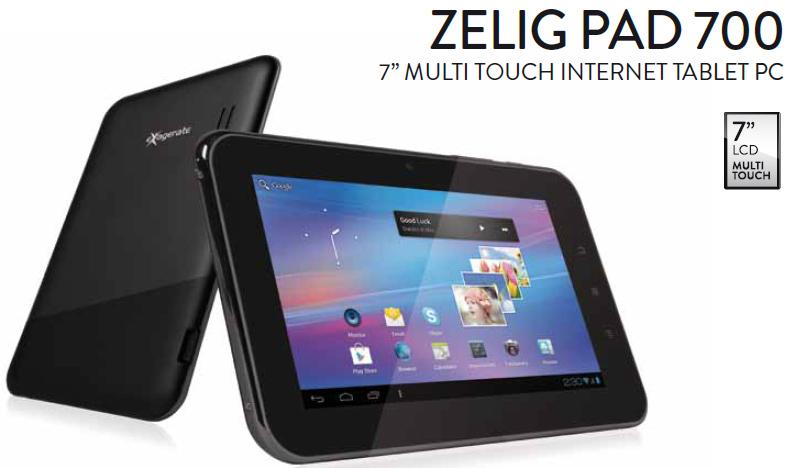 Novità Terminali| Ecco i tablet low cost della serie Zelig Pad
