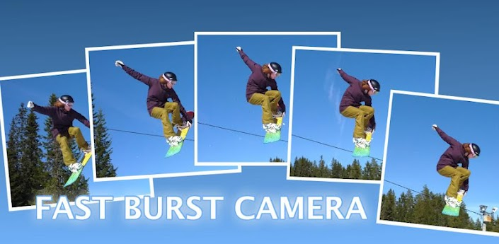 News Apps | Fast Burst Camera scatti multipli per tutti gli Android