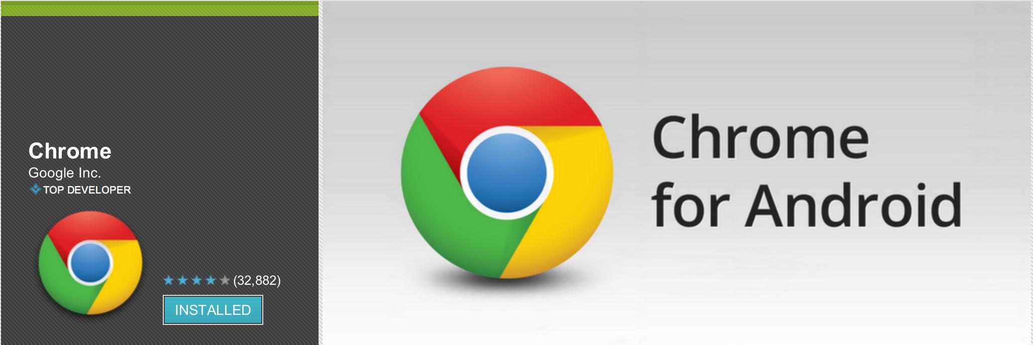 News Apps   Google Chrome per Android aggiornato esce dalla beta, il nuovo browser di default di Android