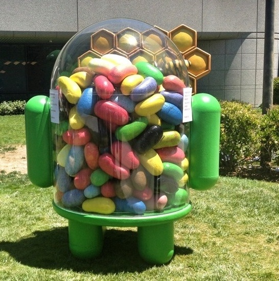 News Jelly Bean | Project Butter e android senza un lag