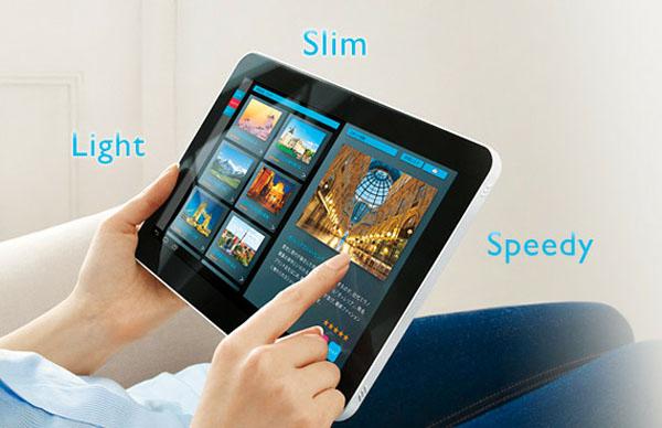 Novità Terminali| NEC lancia un nuovo tablet superslim: LifeTouch L