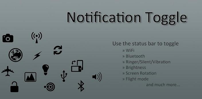 News App | Notification Toggle la barra di notifica personalizzata per tutti!