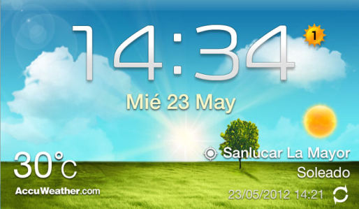 News Apps | Widget Meteo Galaxy S3 ecco l'apk per tutti!