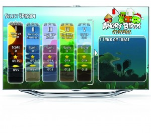Angry Brds_Smart TV ES8000