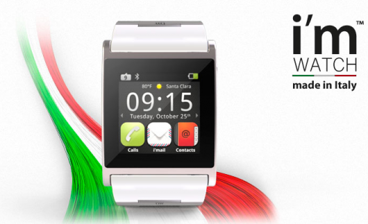 Novità Accessori| I'm Watch: il primo SmartWatch italiano!