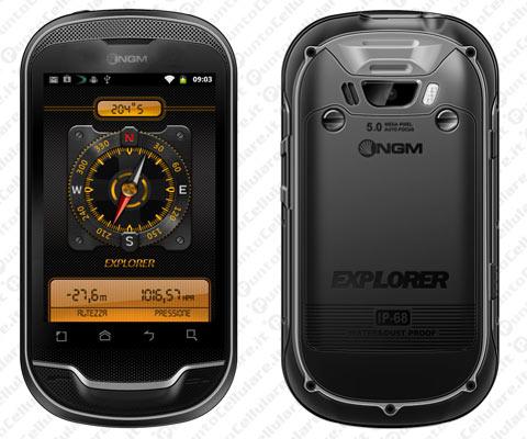 Novità Terminali| NGM Explorer: lo smartphone Android resistente a graffi, acqua ed urti!