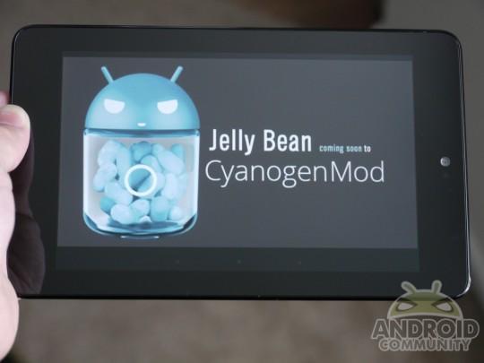 News Tablet | Jelly Bean su Nexus 7 ancora più fluido con la CyanogenMod 10