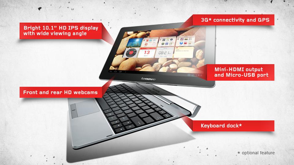 Novità Terminali| IdeaTab S2110 è disponibile al prezzo di 343$ con tastiera dock!