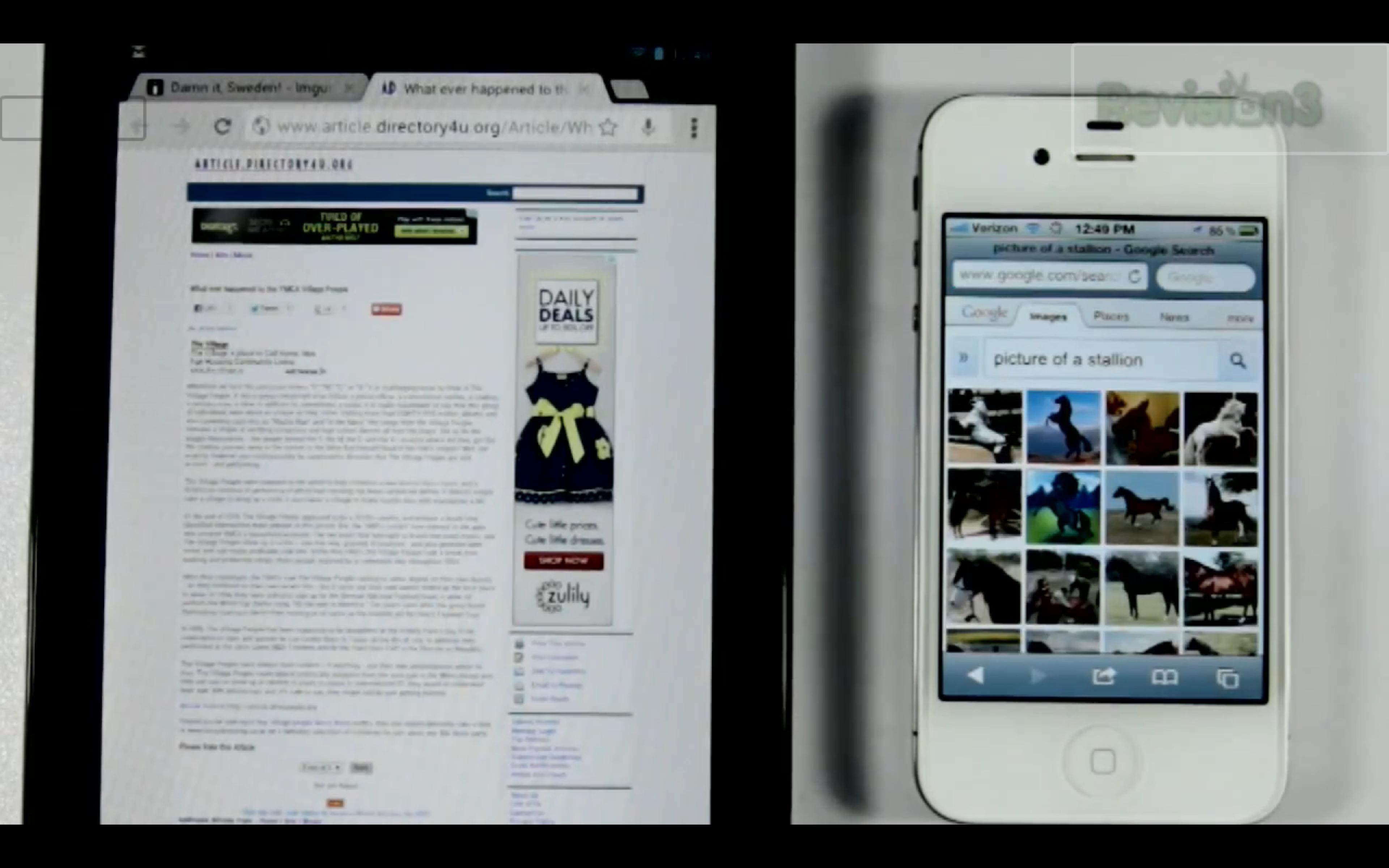 News Apps | Ehi Siri, fammi vedere uno stallone! [Siri VS Jelly Bean Voice Search]
