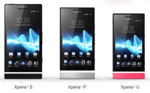Serie Sony Xperia 2012