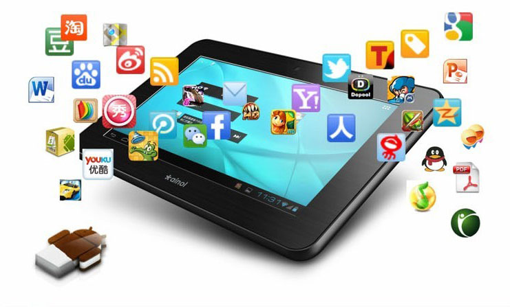 Novità Terminali| Anoil lancia i suoi nuovi tablet Android ICS!