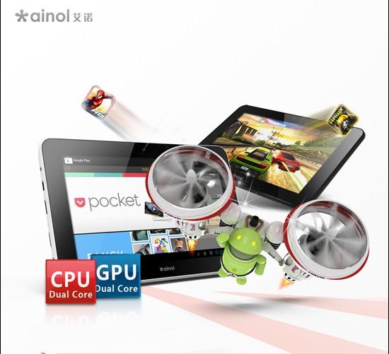 Novità Terminali| Anoil Novo 7 Flame: Un tablet Android ICS a soli 179$
