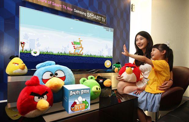 Novità | Angry Birds arriva anche su Smart TV!