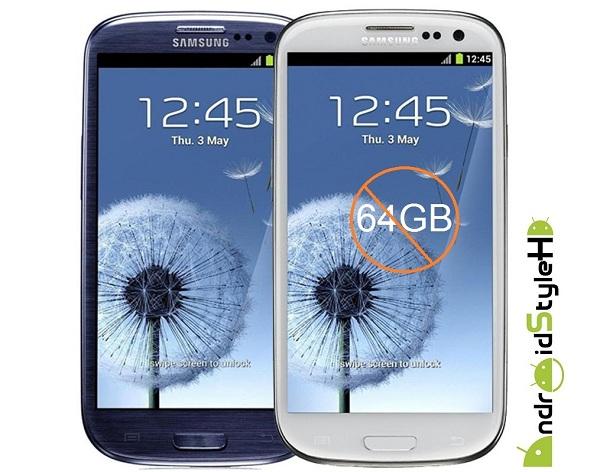 News | La versione da 64 GB del Galaxy S III non verrà mai commercializzata