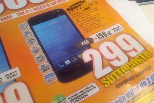 Acquisti Intelligenti | Galaxy Nexus in offerta da MarcoPolo