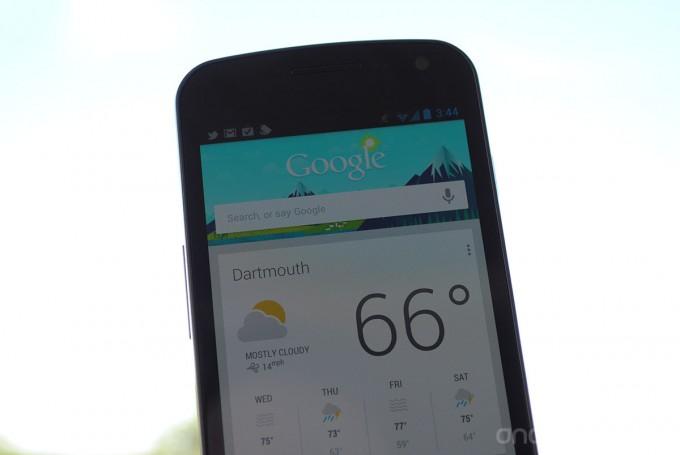 News App | Arriva la Ricerca Vocale sul Google Now (Versione ICS)