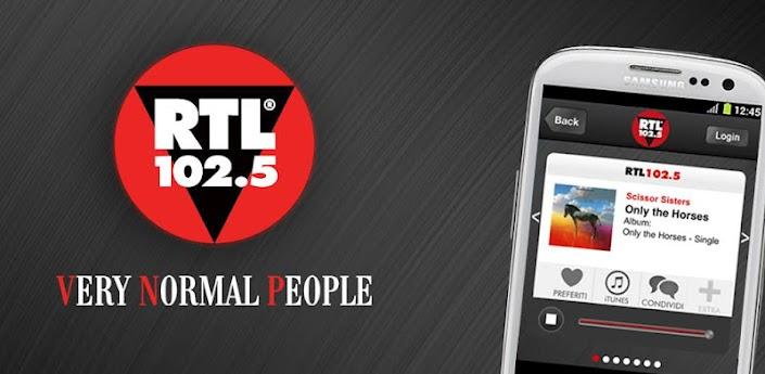News Apps | Arriva sul Google Play l'applicazione di RTL 102..5