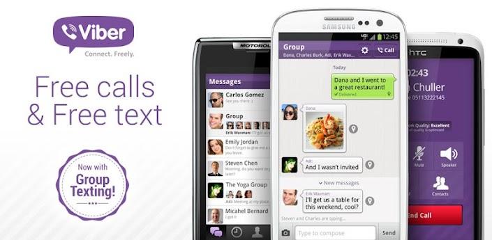 News Apps| Viber si aggiorna alla versione 2.2, nuove funzioni ed interfaccia modificata.