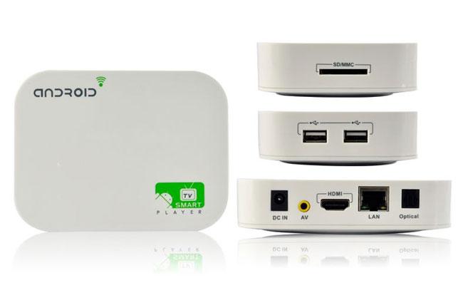 Novità Accessori| A10 media PC: TV Smart Player con Android ICS