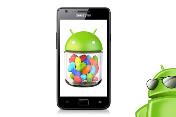 News | Aggiornamento a Jelly Bean per Galaxy S II