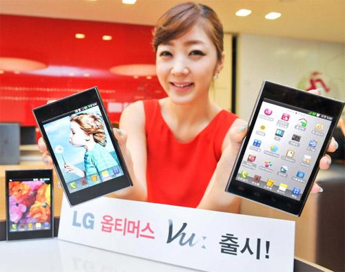 Novità Terminali| LG Optimus Vu disponibile sul mercato da Settembre [Aggiornato]