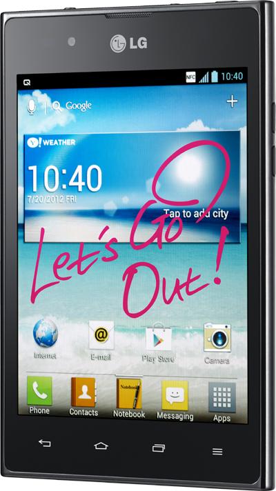 Novità Terminali| LG Optimus Vu disponibilità e prezzo