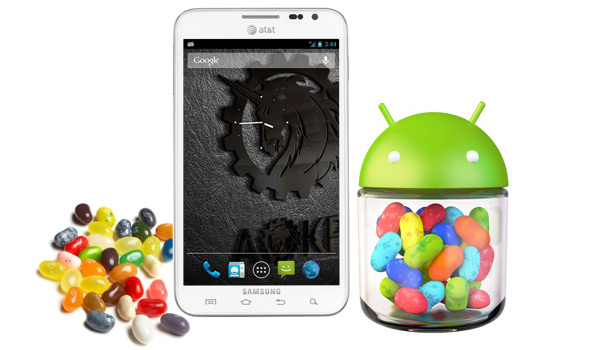 News | Android Jelly Bean su Galaxy Note grazie ad AOKP