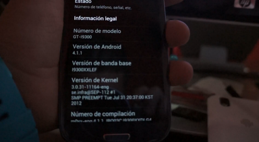 News | Android Jelly Bean sul Galaxy S III (video)