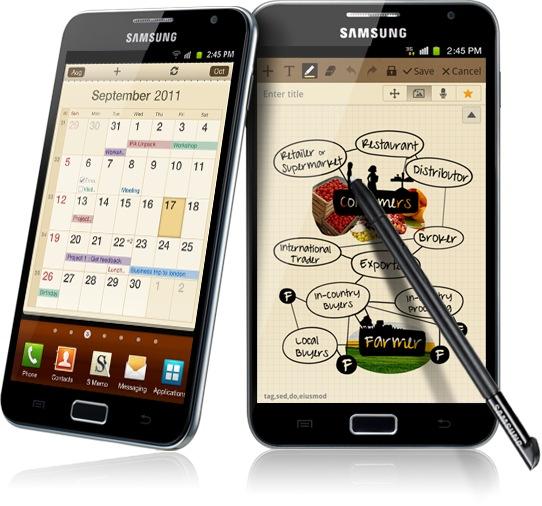 News Terminali| Prima foto del Samsung Galaxy Note 2