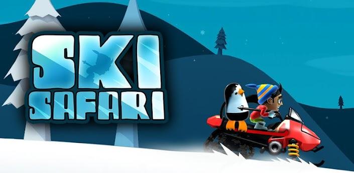 Novità Games  Immergiti in uno scenario nevoso con Ski Safari!