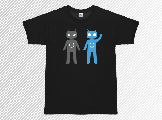 News Terminali| Non solo Rom per CyanogenMod, arrivano le T-shirt serigrafate