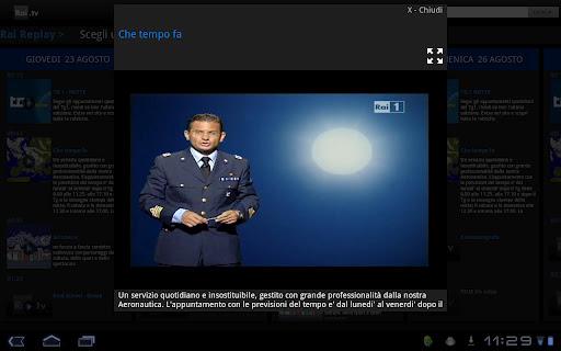 Novità App  Rai TV sbarca anche su Android
