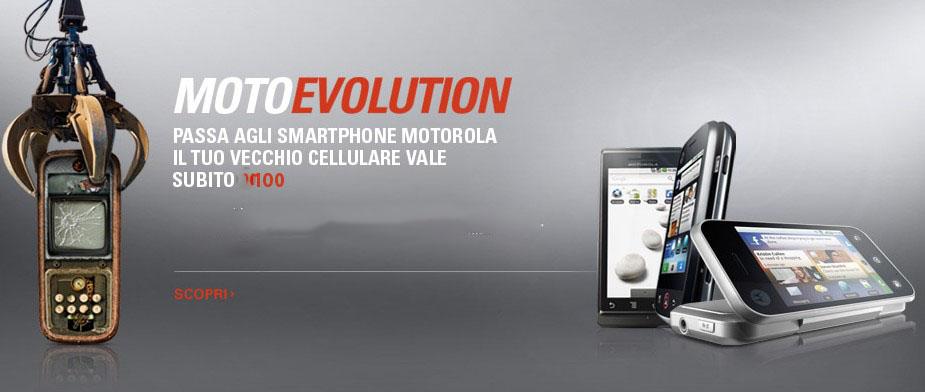 Novità Terminali| Motorola sconta i vecchi device Android..