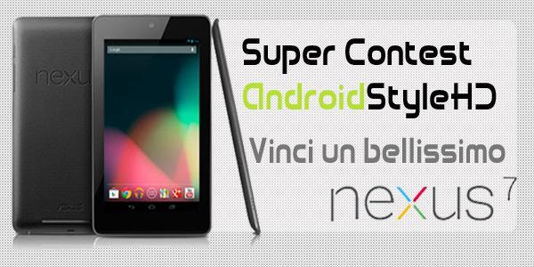 CONTEST | Vinci un bellissimo Nexus 7 con AndroidStyleHD