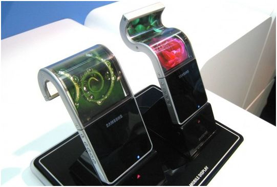 News Terminali | Samsung: Display flessibili disponibili nel 2013