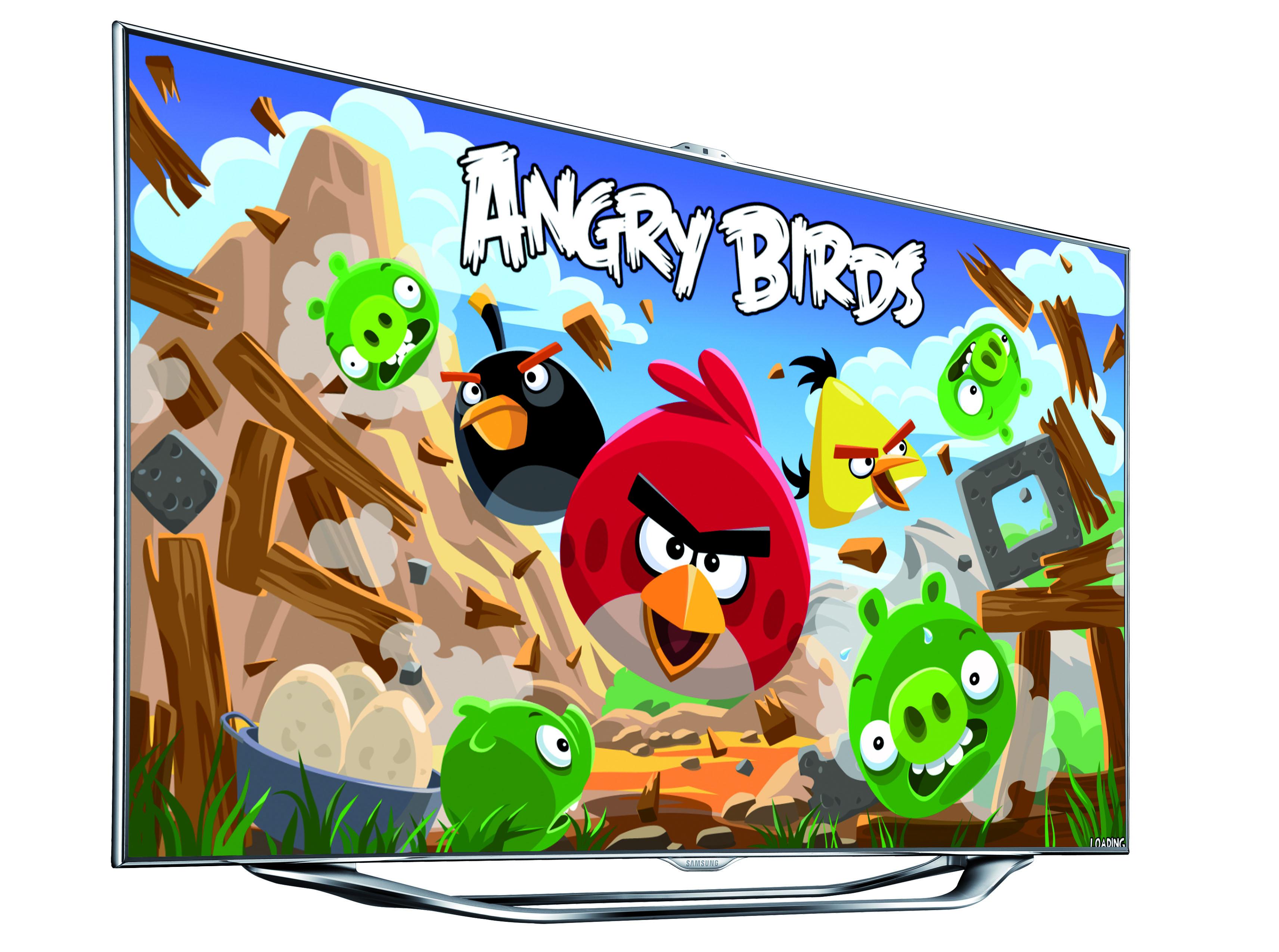 Novità| Samsung incorona il campione di Angry Birds su SMART TV