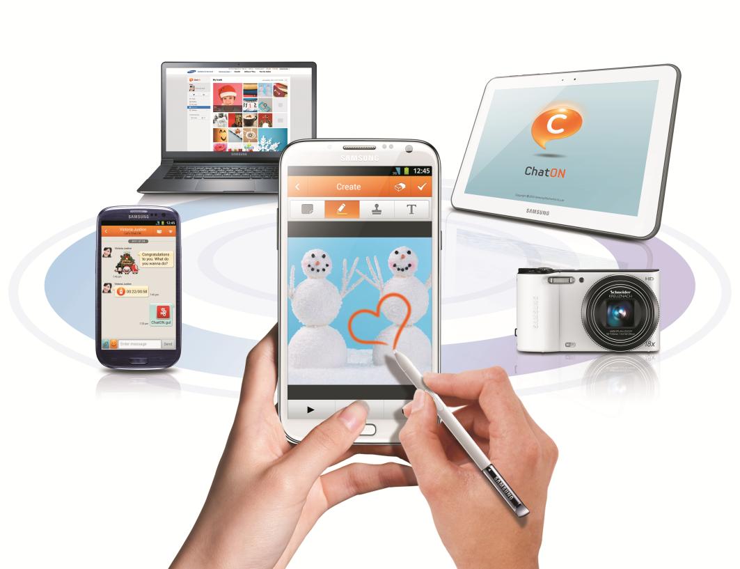 Novità  Samsung ChatON 2.0, per una messaggistica ancora più ricca e divertente