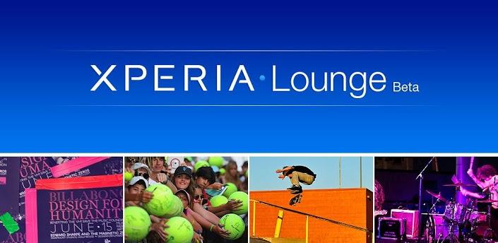 Novità Apps| Sony Mobile lancia l'applicazione Xperia Lounge