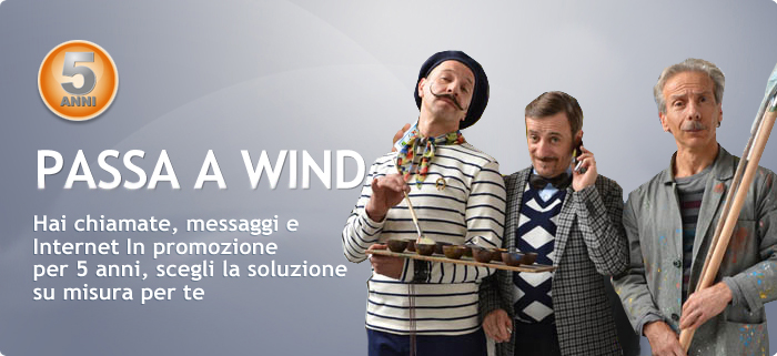 OCCHIO ALLA TARIFFA| Passa a Wind e scegli la tua opzione!