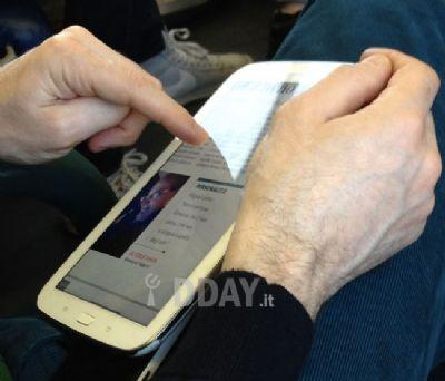 Novità Terminali| Prime foto del nuovo Galaxy Note 8.0